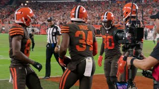 Cleveland Browns Carlos Hyde's mic'd up on his life changing day I Fifth Third Bank I Week 4