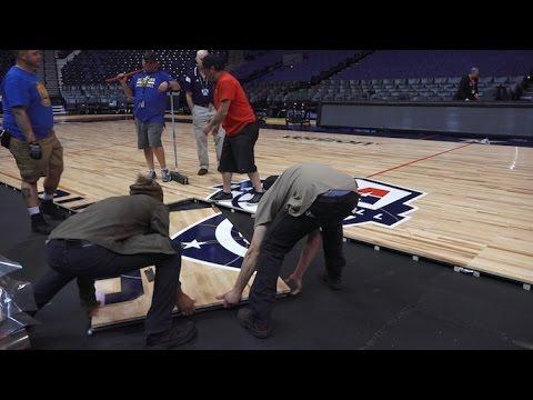 ▶︎ Sneak peak at Oracle Arena's USA Basketball Showcase makeover