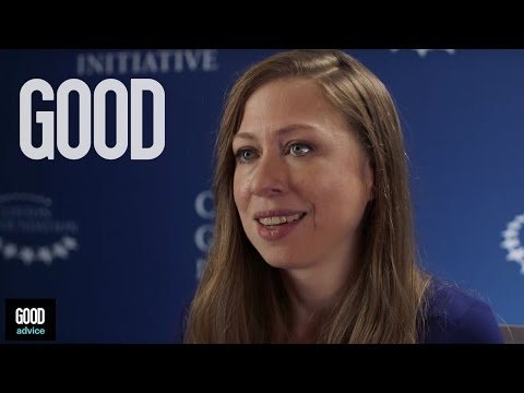 GOOD Advice from Chelsea Clinton | Part 1