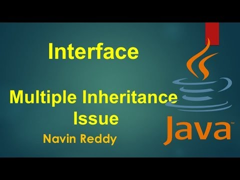 #7.7 Java Tutorial | Multiple Inheritance issue with Interface