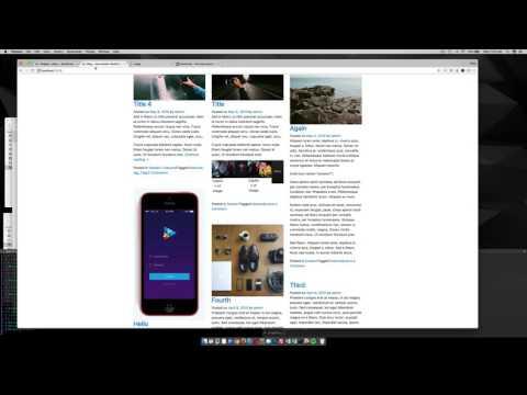 Use Widget Areas to make 3 column Footer in WordPress Theme