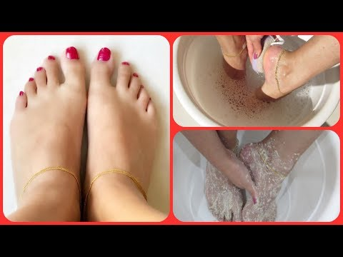 How to Get Baby Soft Feet Easily At Home || Mamtha Nair