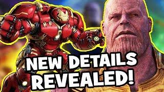 AVENGERS INFINITY WAR New Scenes REVEALED! – Soul Stone, Hulkbuster, Captain America, Thor