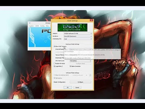 PCSX2 1.4.0 Best Setting Increase Speed Upto 400% Faster Then Before 2018