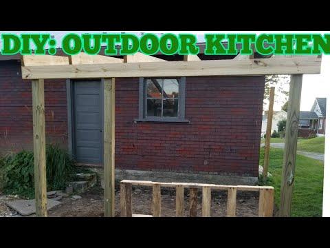 DIY: Build an outdoor kitchen pt.1 (under $100)