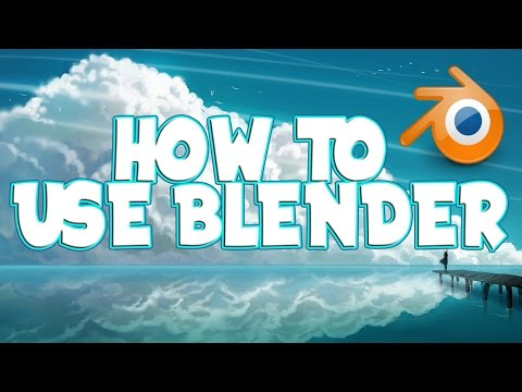 Tutorial - How To Use Blender To Make An Intro [2016/2017]