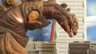 Godzilla attacks!
