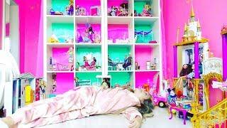 Download САМЫЙ ОГРОМНЫЙ ДОМ для БАРБИ !! 💖 Barbie dream house .Видео для детей. Video