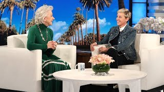 Dame Helen Mirren Finds Out She's Only 72 Years Old