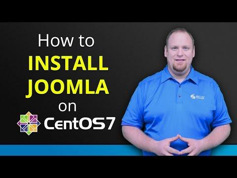 How to install Joomla on CentOS 7