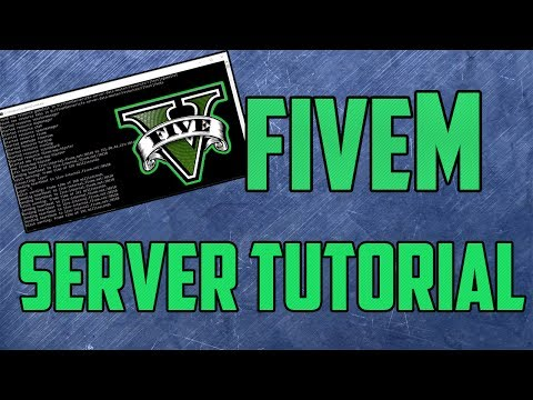 How To Create a FiveM SERVER | FXServer UPDATED - PakVim net HD