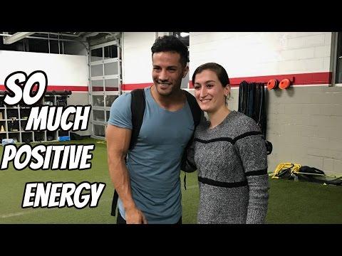 So much POSITIVE energy! (Alphalete Meet Up)