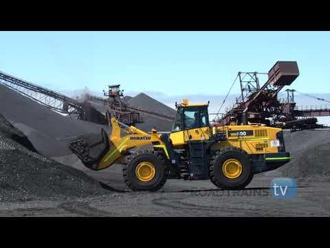 Extreme Machines checkout a new Komatsu WA500 wheel loader