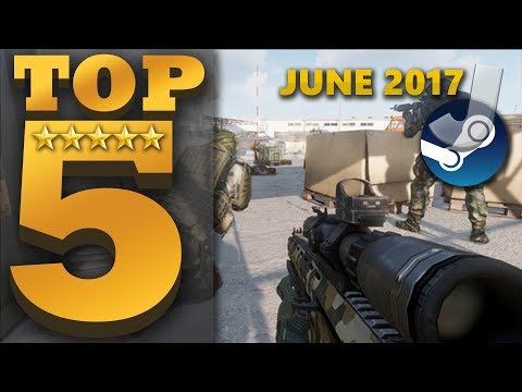 Top 5 NEW FREE TO PLAY Steam Games (JUNE 2017)