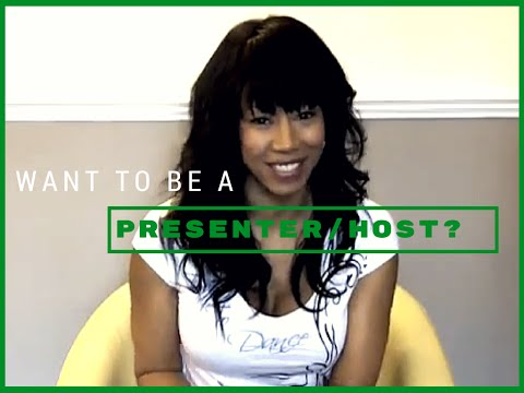 Want To Be A Presenter/Host? TV Presenting 321 | Time With Natalie