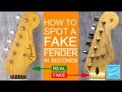 How to Spot a FAKE Fender in Seconds!