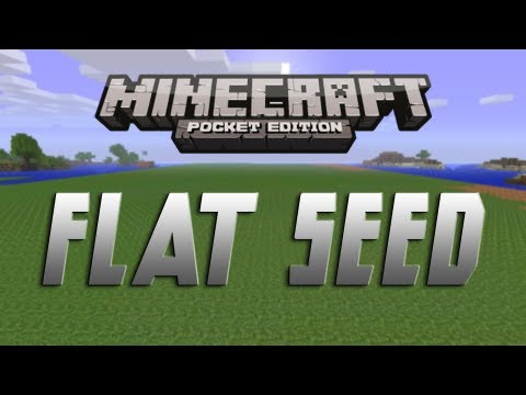 Great Flat Seed - Minecraft Pocket Edition