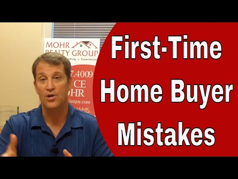 4 Biggest First Time Home Buyer Mistakes