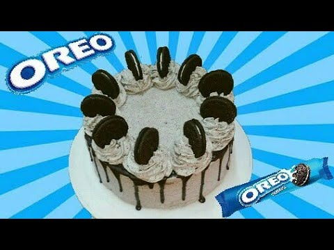 OREO CAKE RECIPE | EASY WITH SIMPLE INGREDIENTS!!