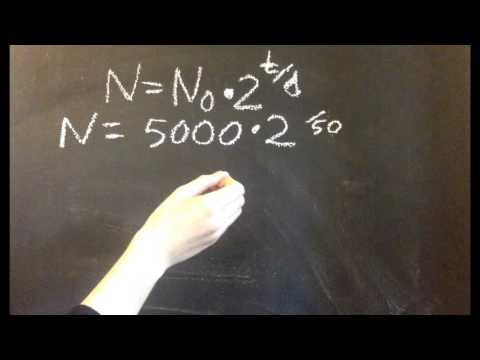 Population Growth With the Doubling Time Growth Formula