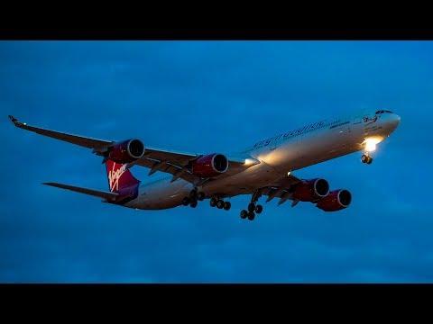 London Heathrow Airport 2018 Pt 5 Night arrivals
