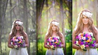 Photoshop Wedding photo editing   Oil Painting   Color adjustment