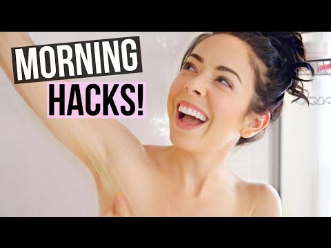 How To Have A Better Morning! Life Hacks To Get Ready Fast!