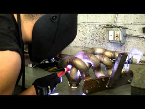 Dynamic Performance Tig welding my custom manifold
