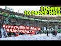 Download  Hujan Paper Roll Tribun Green Nord Berpadu dengan Nyanyian Untuk Klub anak Papa | Psby vs Persija MP3,3GP,MP4