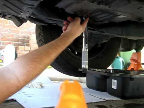 Honda Civic 2001 Auto Transmission Fluid Change