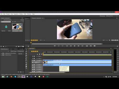 3  Methods of Removing Audio from Video Clip on Adobe Premiere Pro CS6