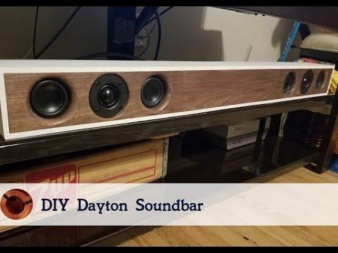 How to make your own Soundbar - Free plans! DIY Speaker Build
