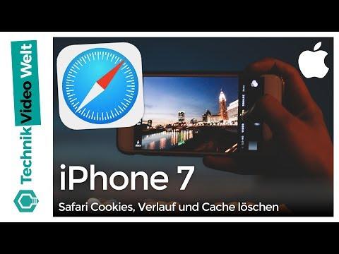 iPhone 7 Safari Cookies, Cache und Verlauf löschen