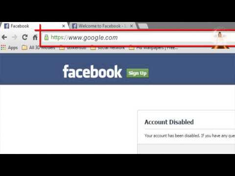 How To Enable Facebook Account After Being Disabled | Khadija Productions
