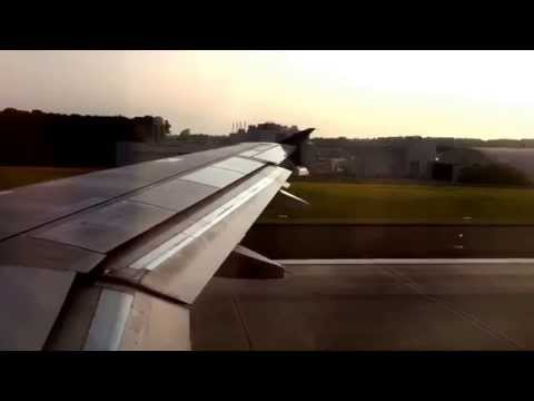 Delta Airlines A320 Takeoff from Baltimore Washington International Airport (KBWI)