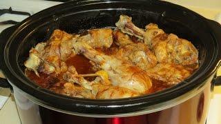 Crock Pot Slow Cooker Recipechicken Legs In Bbq Sauce