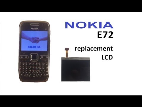 Nokia E72 - Screen / Display replacement