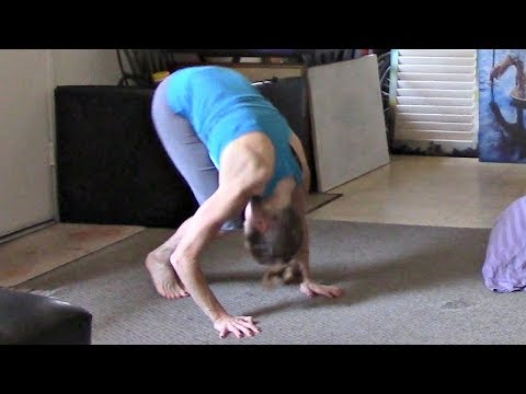 How To Do A Forward Roll With Coach Meggin! Updated Gymnastics Lesson