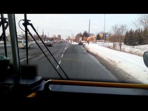 GO bus drive Richmond Hill Centre Terminal CANADA Ontario Toronto