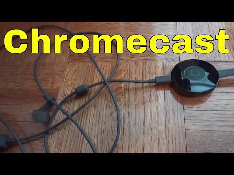 How To Connect A Chromecast To A TV-EASY Tutorial
