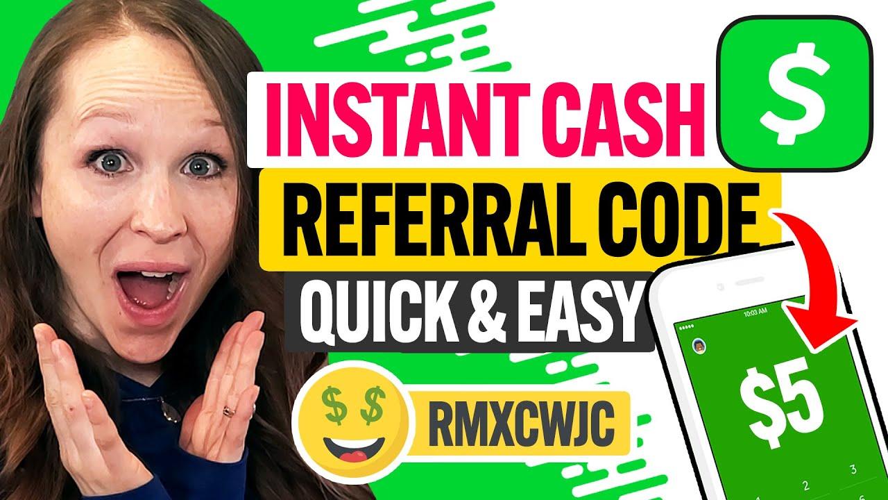 💲 BEST Cash App Referral Code 2021:  Easy FREE MONEY in 1 Minute! (100% Works) (NO BS)