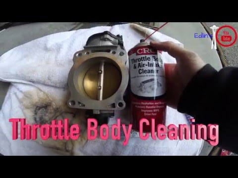 Ford F-150: Throttle Body Cleaning - under 45 minutes