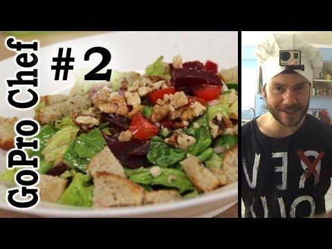 GoPro Chef #2 Healthy Nutritious Super Salad