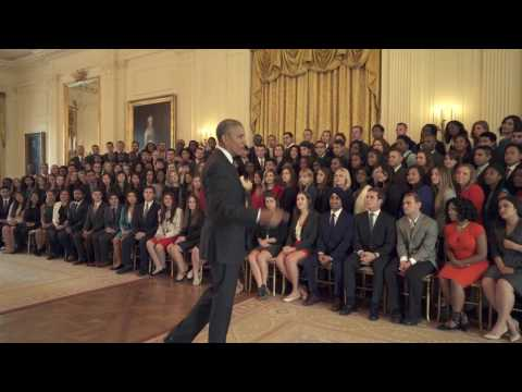 Obama's Final Advice To White House Interns