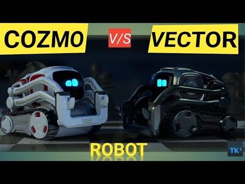 AI based ROBOTs COZMO v/s VECTOR