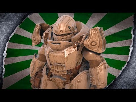 Fallout 4: Tumbajamba's Combat Power Armor ~MOD SHOWCASE~ /W Killerkev