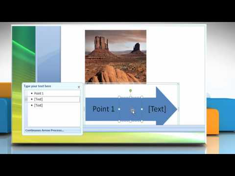 Microsoft® Word 2007: How to create a flow chart with pictures in Windows® Vista?