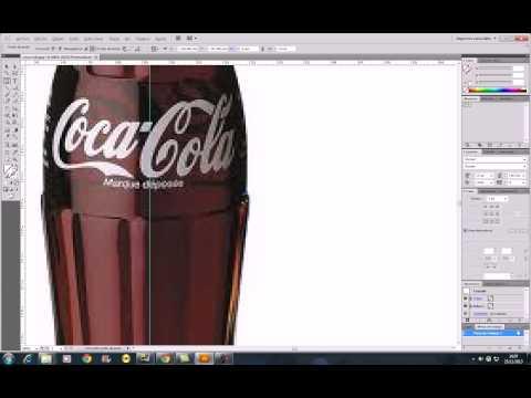 Adobe Illustrator  Tutorial coca cola 3D com Prof Adriano Illustrator