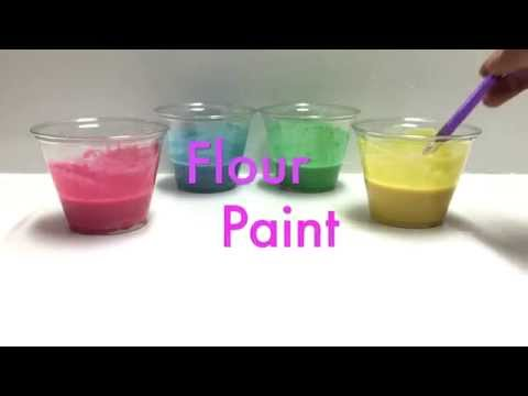 Easy Peasy Flour Paint