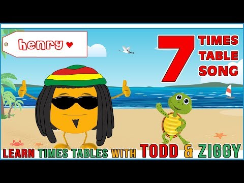 7 Times Table Song (Learning is Fun The Todd & Ziggy Way!)